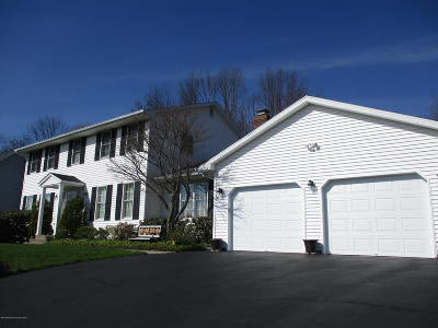 Clarks Summit Single Family Home For Sale: 102 Meadow Creek Rd