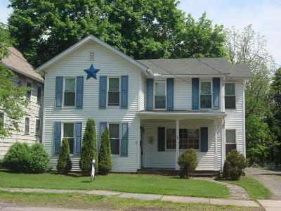Tunkhannock Single Family Home For Sale: 36 W Harrison St