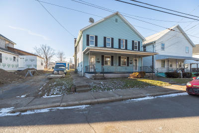 Lackawanna County Multi Family Home For Auction: 216 218 Sussex St