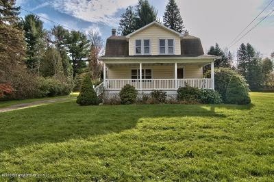 Lackawanna County Single Family Home For Sale: 9230 Route 502