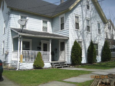 Susquehanna County Multi Family Home For Sale: 191 Broad Ave.