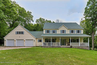 Clarks Summit Single Family Home For Sale: 9143 Valley View Dr