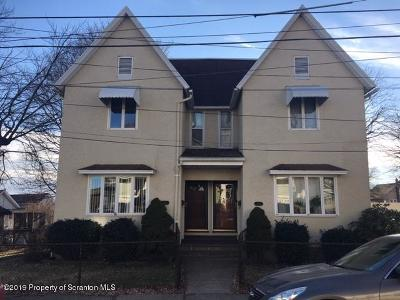 Lackawanna County Multi Family Home For Sale: 1313-1315 Price St