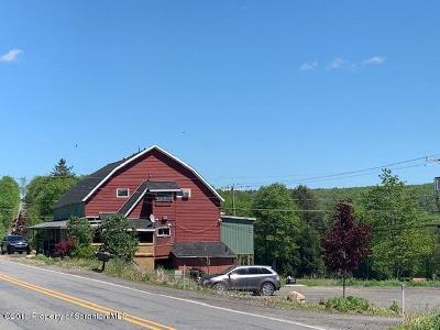 Lackawanna County Multi Family Home For Sale: Sr 690