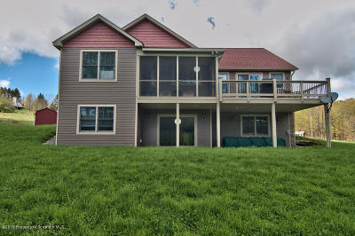 Susquehanna County Single Family Home For Sale: 729 Pleasant Way