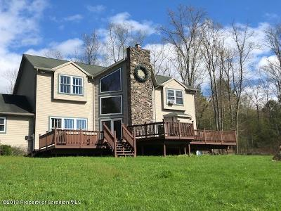 Wyoming County Single Family Home For Sale: P O Box 122