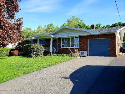 Lackawanna County Single Family Home For Sale: 110 Dolph St