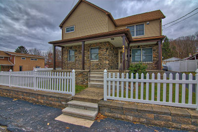 Lackawanna County Single Family Home For Sale: 449 Bodnick St
