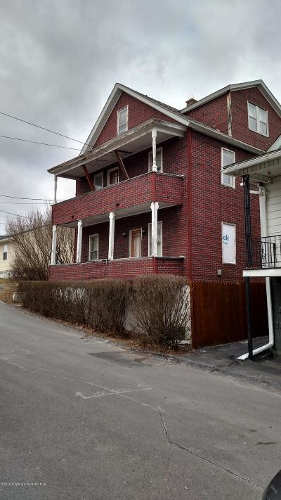Lackawanna County Multi Family Home For Sale: 7 Duffy St
