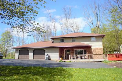 Lackawanna County Single Family Home For Sale: 100 Lee Rd