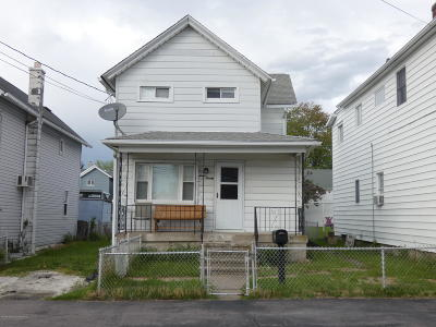 Lackawanna County Single Family Home For Sale: 720 E Scott Street