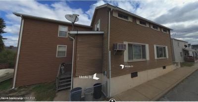 Lackawanna County Multi Family Home For Sale: 114 116 Middle St
