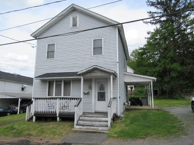 Lackawanna County Single Family Home For Sale: 3 Rock St