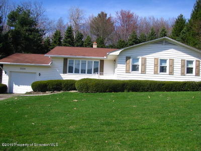 Lackawanna County Single Family Home For Sale: 9194 Valley View Dr.