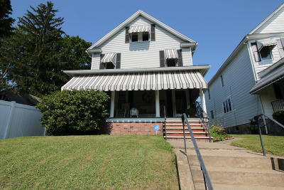 Lackawanna County Single Family Home For Sale: 719 N Lincoln Ave