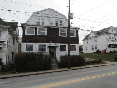 Luzerne County Multi Family Home For Sale: 658-660 Hazle Street