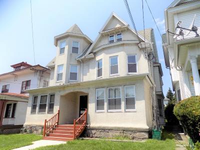 Scranton Multi Family Home For Sale: 439 Colfax 441