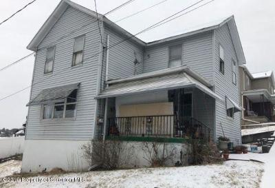 Luzerne County Single Family Home For Auction: 54 Johnson St