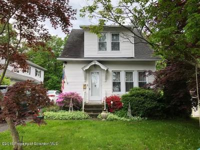 Clarks Summit Single Family Home For Sale: 310 E Greenwood Ave