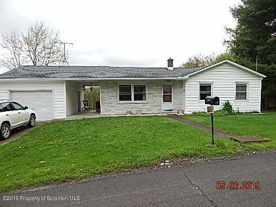 Susquehanna County Single Family Home For Sale: 139 Elizabeth Ave