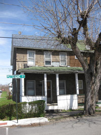 Luzerne County Single Family Home For Sale: 201 Pettebone St