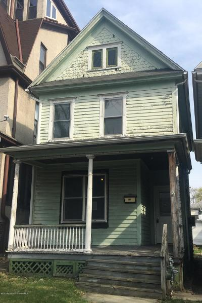 Scranton Single Family Home For Sale: 936 N Webster Ave