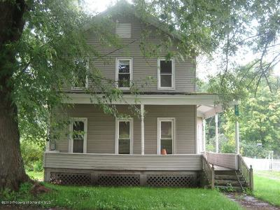 Susquehanna County Single Family Home For Sale: 293 Jackson Ave
