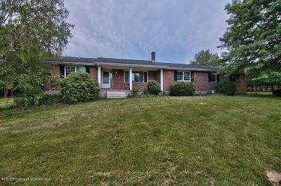 Lackawanna County Single Family Home For Sale: 1726 Archbald Mt. Rd