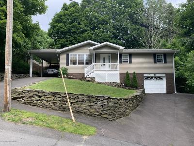 Clarks Summit Single Family Home For Sale: 220 Colburn Ave