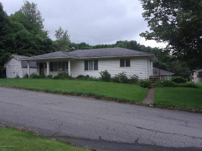 Lackawanna County Single Family Home For Sale: 198 Farview Street