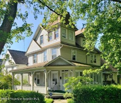 Lackawanna County Single Family Home For Sale: 829 Columbia St