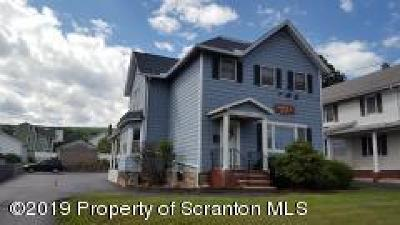 Lackawanna County Multi Family Home For Sale: 241 Main St