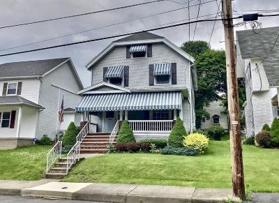 Lackawanna County Single Family Home For Sale: 138 Park St