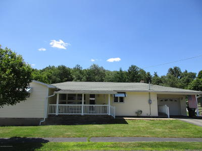 Lackawanna County Single Family Home For Sale: 315 Dwight Ave