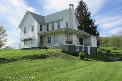 Meshoppen Single Family Home For Sale: 5659 State Route 3004