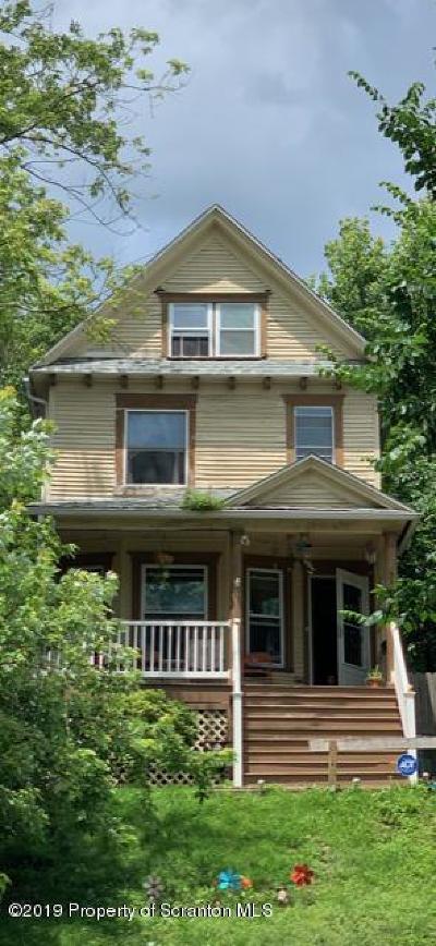 Scranton Single Family Home For Sale: 537 N Irving Avenue