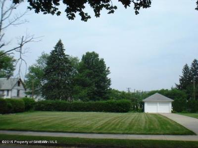 Luzerne County Residential Lots & Land For Sale: 808 Susquehanna Ave