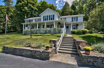 Clarks Summit Single Family Home For Sale: 502 Gravel Pond Rd