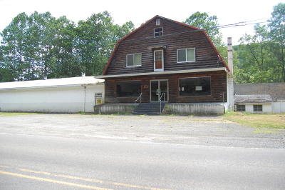 Susquehanna County Commercial For Sale: 2104 State Route 92