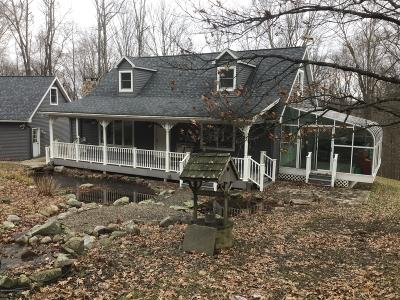 Wyoming County Single Family Home For Sale: 7458 Sr 6