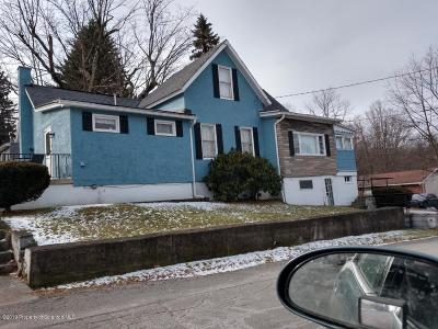 Clarks Summit Single Family Home For Sale: 301 Melrose Ave