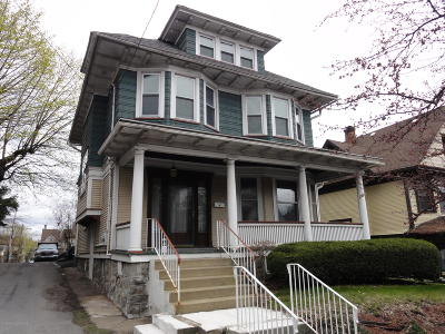 Scranton Single Family Home For Sale: 1614 Mulberry St