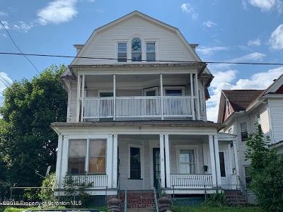 Scranton Multi Family Home For Sale: 811 Wheeler Ave