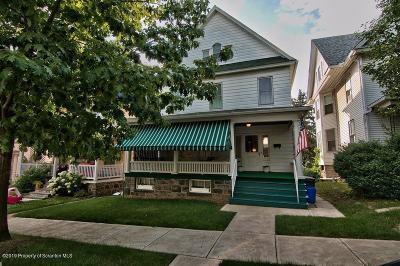 Scranton Single Family Home For Sale: 909 N Irving Ave