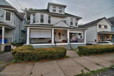 Lackawanna County Multi Family Home For Sale: 1320 1322 Capouse Ave