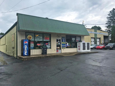 Lackawanna County Commercial For Sale: 409-419 Washington Avenue