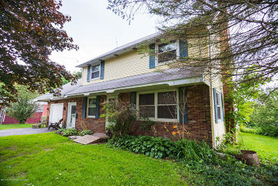 Susquehanna County Single Family Home For Sale: 650 Dunn Pond Road