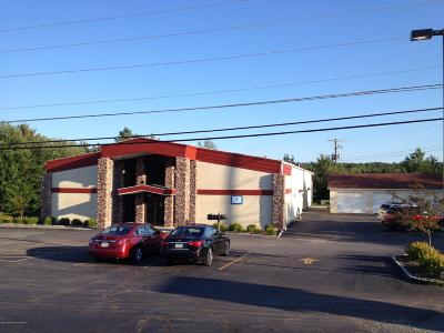 Lackawanna County Commercial For Sale: 1134 Rt 348