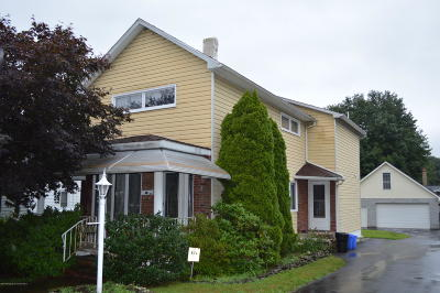 Luzerne County Single Family Home For Sale: 907 Marcy