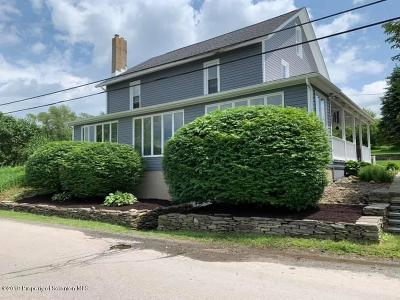 Clarks Summit Single Family Home For Sale: 2253 Cherry Hill Rd